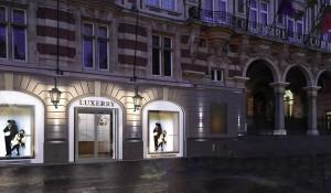 commerce de luxe guillaume da silva architecture intérieur façade vitrine