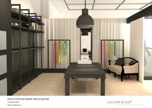 bouton noir-boutique-sur mesure-auchan-architecture intérieure-guillaume da silva-costume