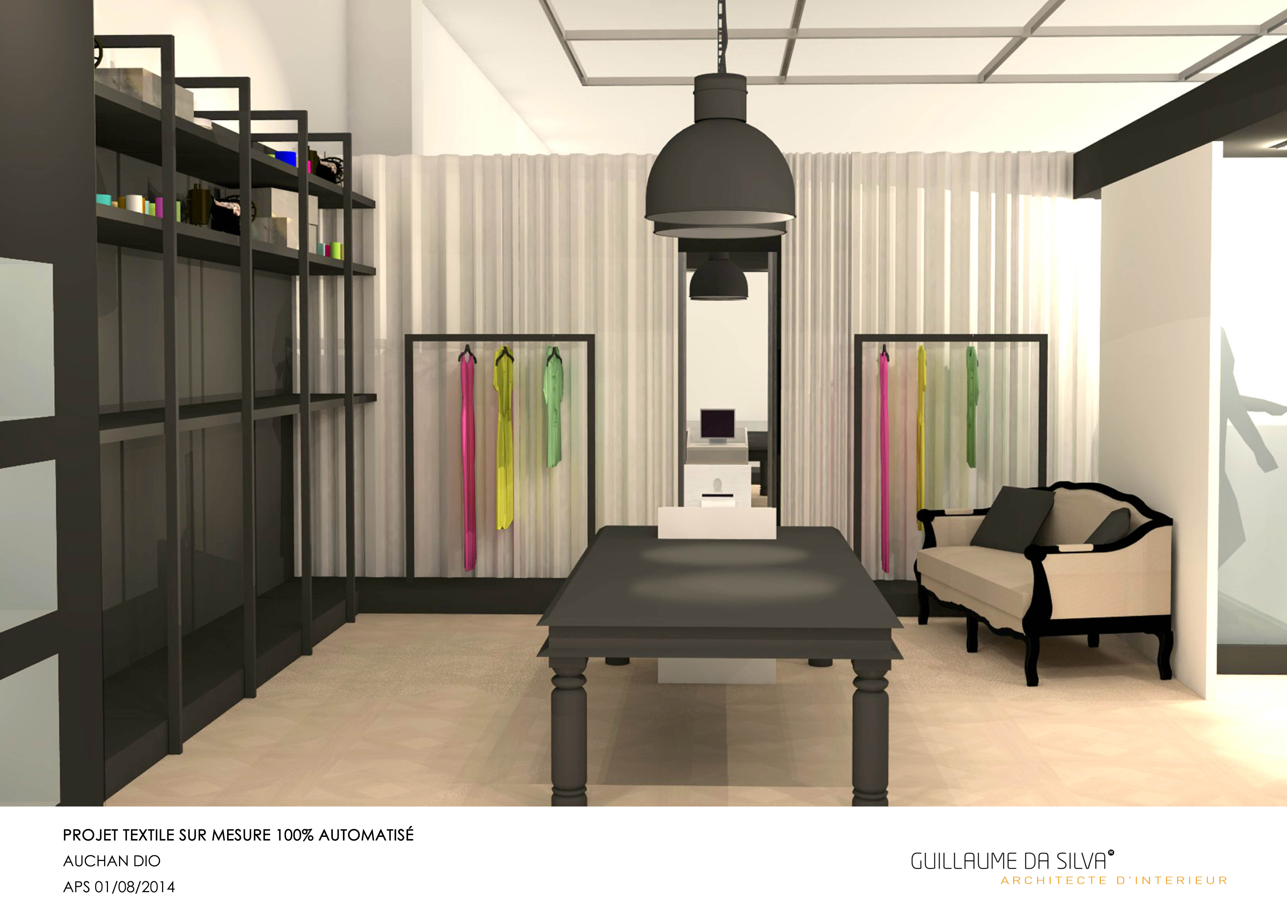 bouton noir tailor made clothes store auchan villeneuve d 39 ascq 59 france guillaume da silva. Black Bedroom Furniture Sets. Home Design Ideas