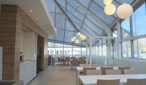 cafétéria-entreprise-france telecom-villeneuve d'ascq-guillaume da silva-architecture intérieure-cuisine