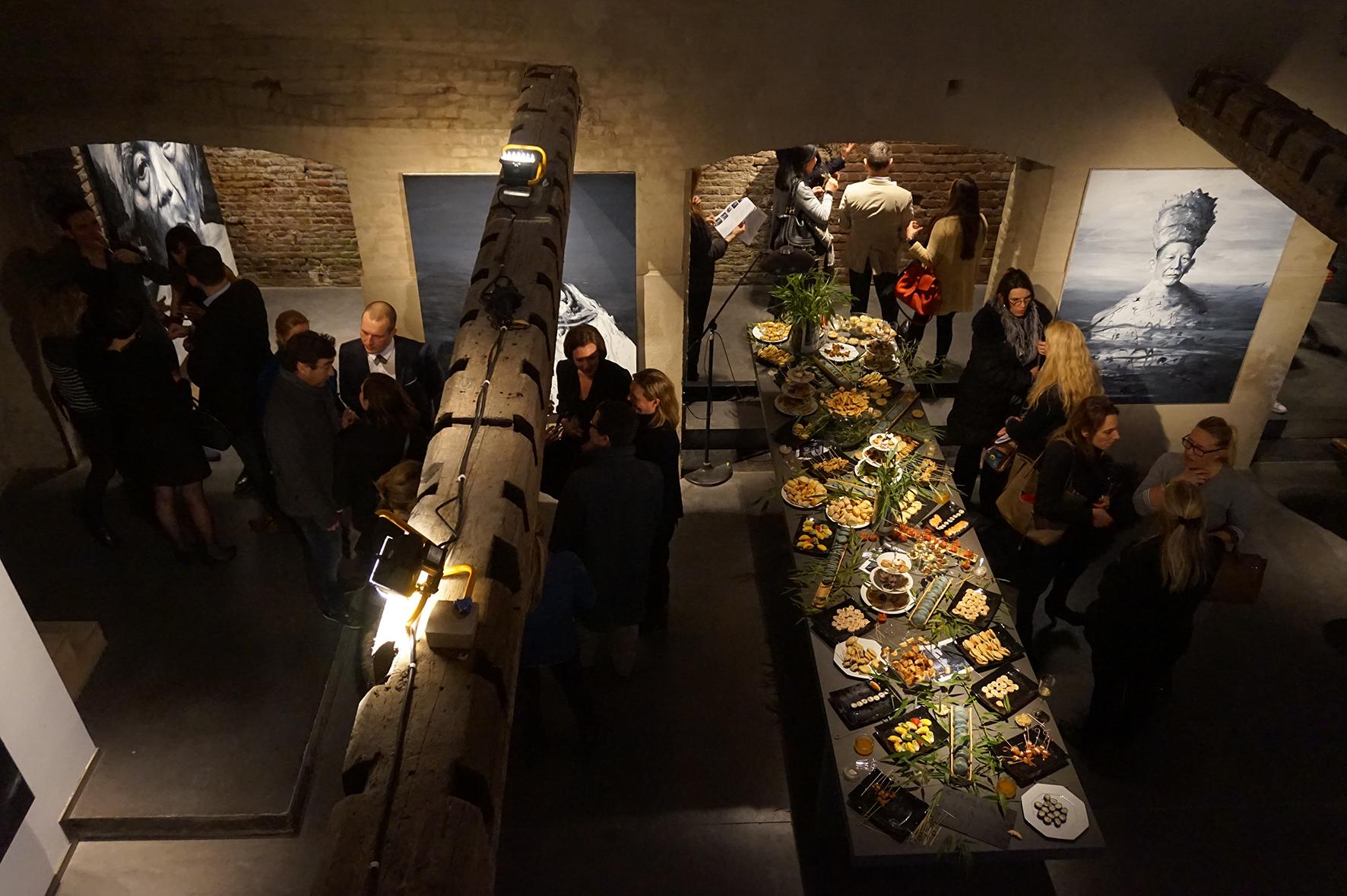 Exposition du peintre etienne cail au sein de l 39 agence d architecture int rieure guillaume da - Guillaume da silva ...