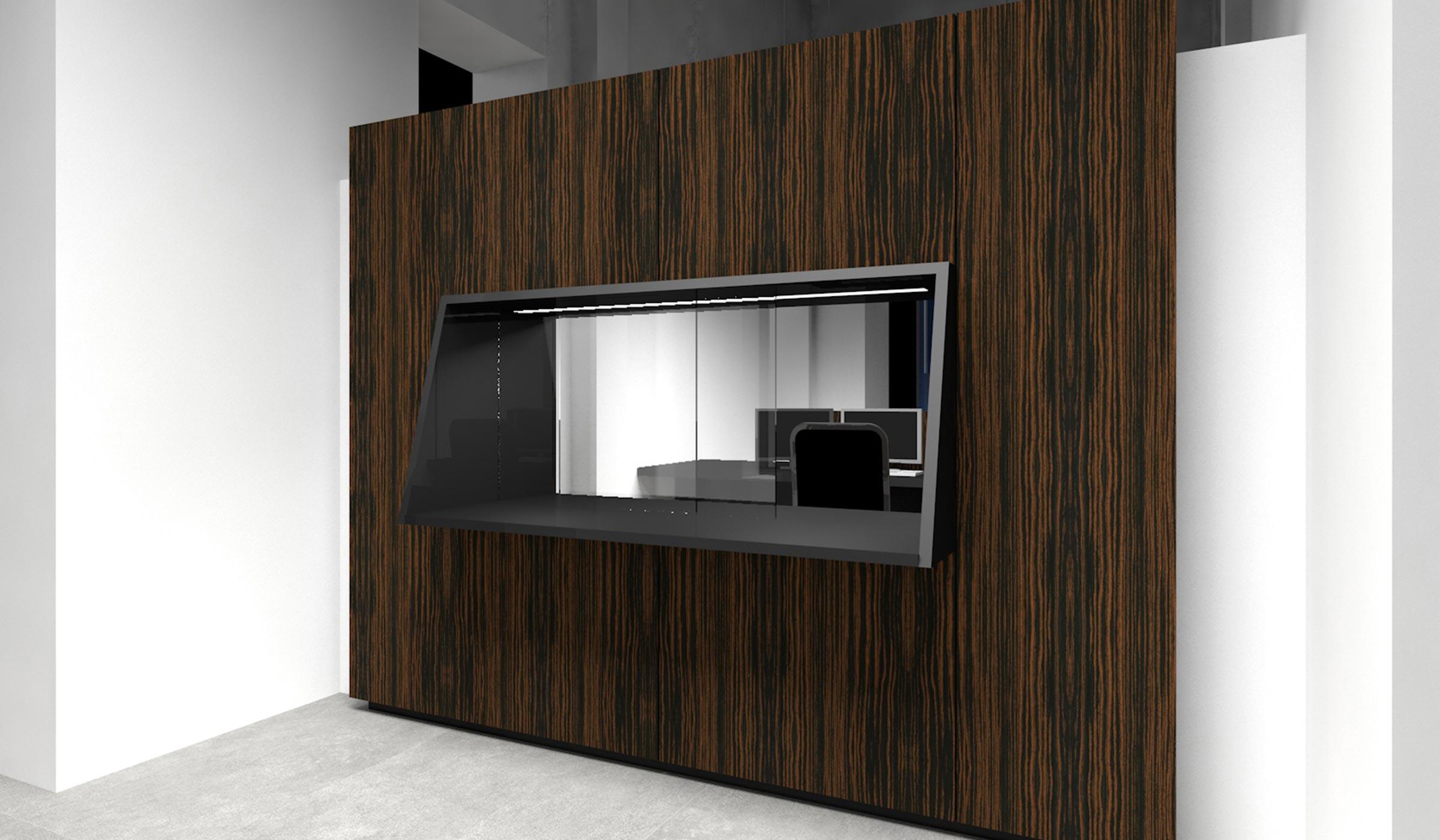 administrative court rooms and reception desk renovation lille 59 france guillaume da silva. Black Bedroom Furniture Sets. Home Design Ideas