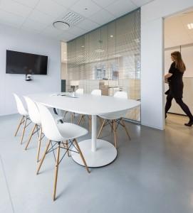 Architecture, bâtiment passif, bureau, tertiaire, nord, lille France, aménagement intérieur