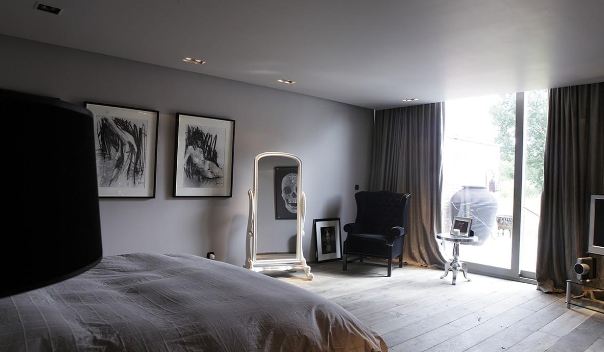 black house tournai belgium guillaume da silva. Black Bedroom Furniture Sets. Home Design Ideas